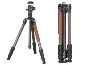 Leofoto Armour LN-284CT Carbon Fibre Tripod + NB-40 Panning Clamp Ballhead