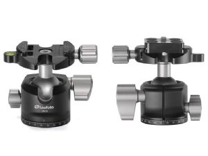 Leofoto LH-30 Low Profile Ballhead with Quick Release plate