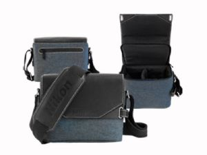 Nikon Luxury Leather & Canvas 'Bridge' CS-P12 Camera Case