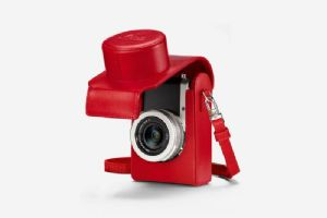Leica D-Lux7 Leather Case Red