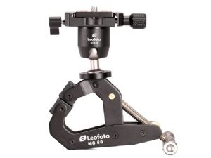 Leofoto MC-50 Multi-Functional Clamp + MTB-19 Mini Panoramic Ball Head