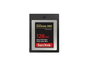 Sandisk 128GB CF Express Extreme Pro (1700MB/Sec) Memory Card
