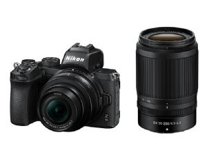 Nikon Z 50 + Z DX 16-50mm f/3.5-6.3 VR & 50-250mm f/4.5-6.3 VR Zooms