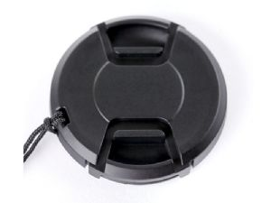 Summit Clip-on 55mm Lens Cap with Built-In Cap Keeper