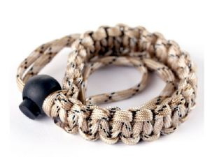 Summit Paracord Woven Wrist Strap in Desert Camo