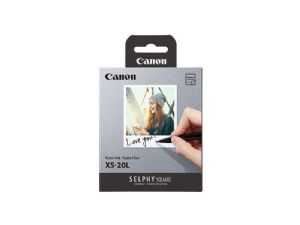 Canon 2 packs of XS-20L for SELPHY Square QX10 Printer