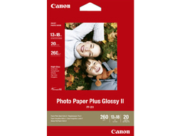 Canon (PP201)Photo Paper Plus Glossy II 7X5 20 Sheets