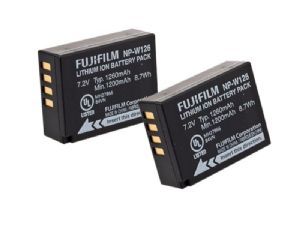 Fujifilm Lithium Ion battery NP-W126S Twin Pack