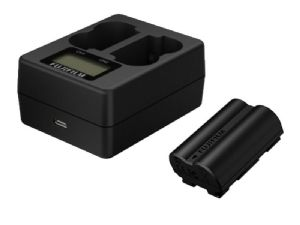 Fujifilm NP-W235 Lithium-Ion Rechargeable Battery + Fujifilm BC-W235 Dual Battery Charger
