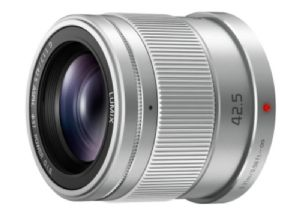 Panasonic Lumix G 42.5mm f1.7 Silver