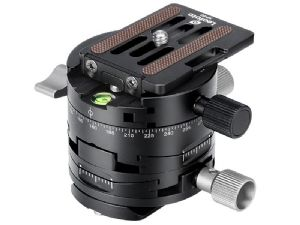 Leofoto G2 Geared Panoramic Head + NP-60 QR Plate