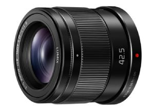 Panasonic Lumix G 42.5mm f1.7 Black