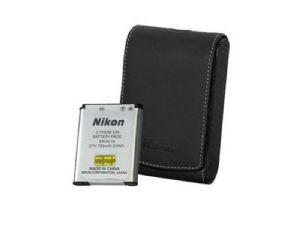 Nikon CoolPix S7000 Spare Battery & Case Accessory Kit (CoolKitK002)
