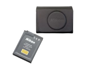 Nikon CoolPix Spare Battery & Case Accessory Kit for A900 & S9900 (CoolKitK001)