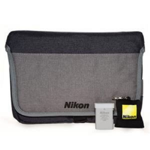 Nikon DSLR Accessory Kit (Inc Nikon EN-EL14a Battery, Nikon Camera Bag & Keyring Lens Cloth!)
