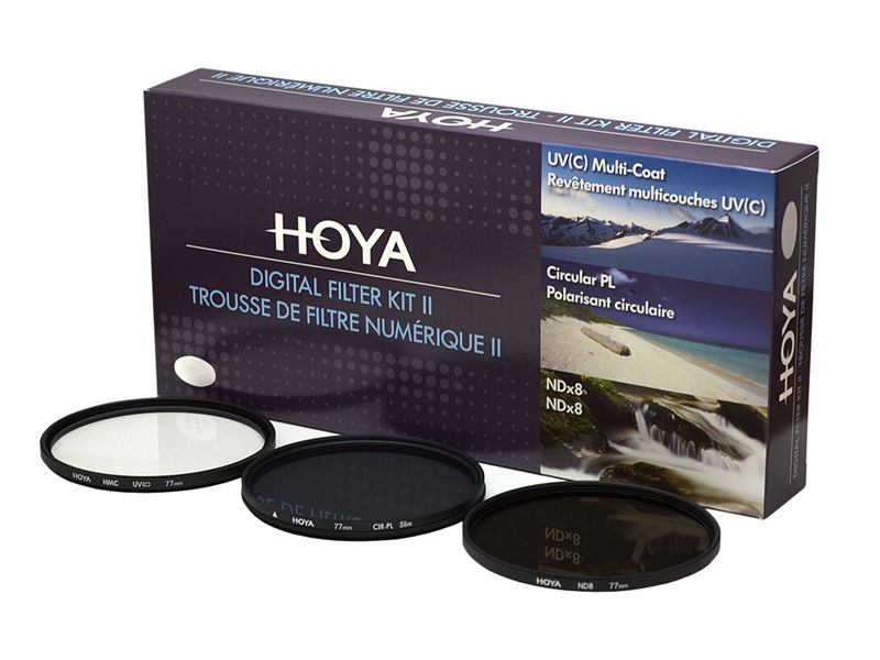 Hoya 77mm Digital Filter Kit II