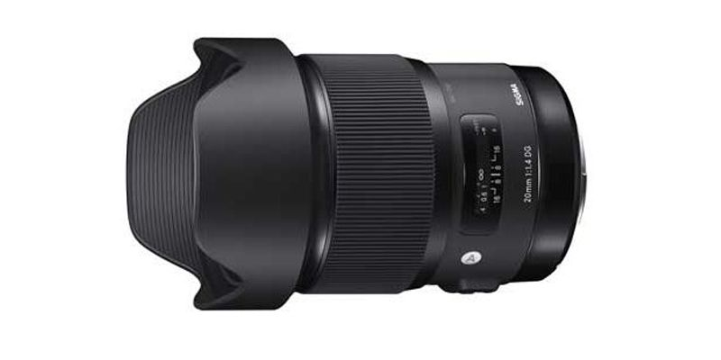 Sigma 20mm F1.4 DG HSM Art - For Canon