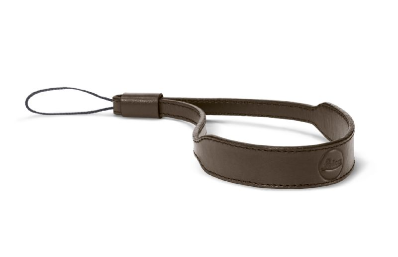 Leica Wrist Strap for C-Lux, Taupe Leather