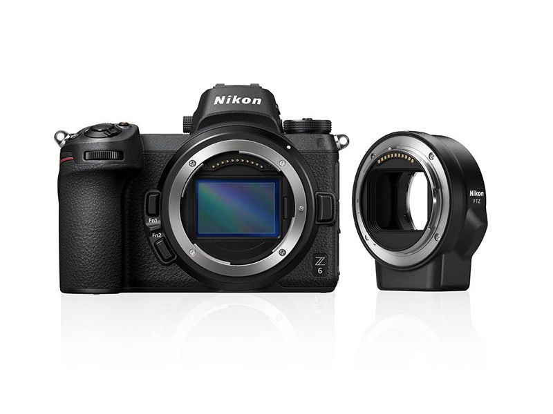 Nikon Z 6 Body + F Mount Adapter