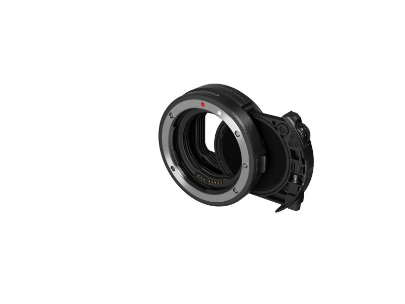 Canon Drop in Filter Mount Adapter EF-EOS R with Drop in Cir-Pol filter A