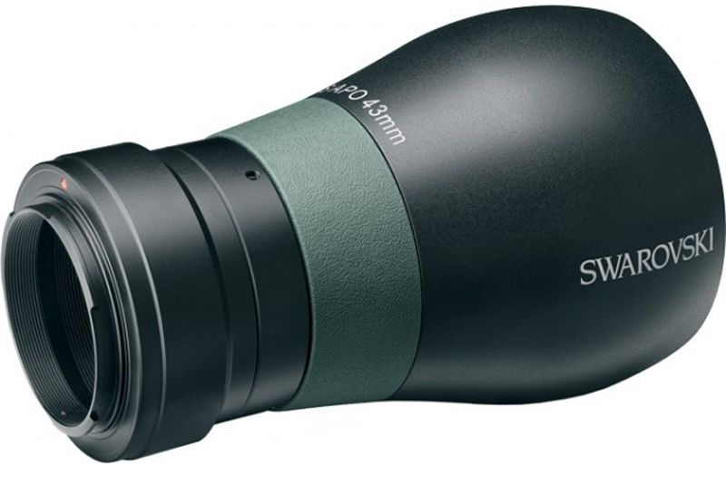 Swarovski Full frame digiscoping kit for Canon EOS, included a 43mm TLS APO with T2 mount
