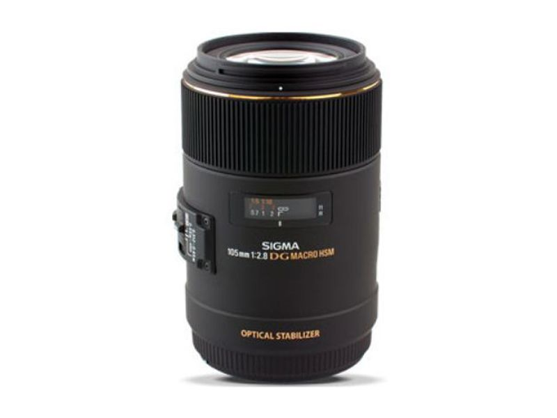 Sigma 105mm F2.8 EX DG MACRO OS HSM - For Nikon