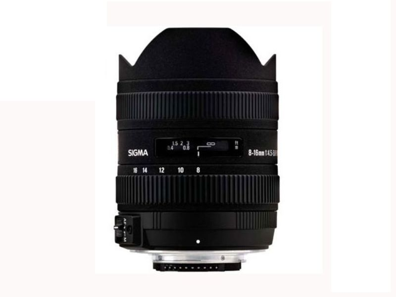 Sigma 8-16mm F4-5.6 DC HSM - For Canon