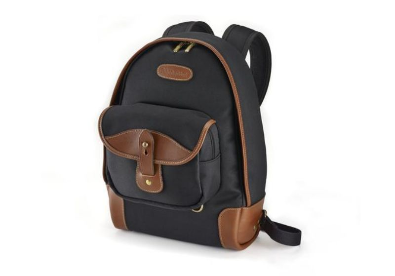 Billingham 35 Rucksack Black Canvas / Tan Leather
