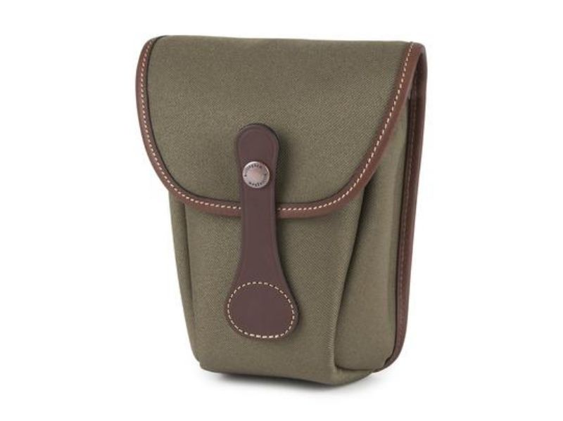 Billingham AVEA 8 End Pocket Sage FibreNyte / Chocolate Leather