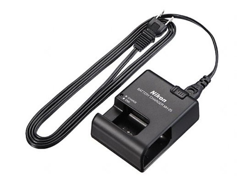 Nikon MH-25a Charger (for EN-EL15, EN-EL15a and EN-EL-15b Batteries- External Charger for the new Z 7 & Z 6 Mirrorless Cameras)