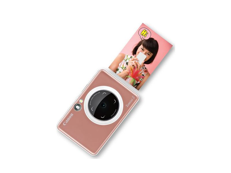 Canon ZoeMini S Instant Camera with Bluetooth | Rose Gold