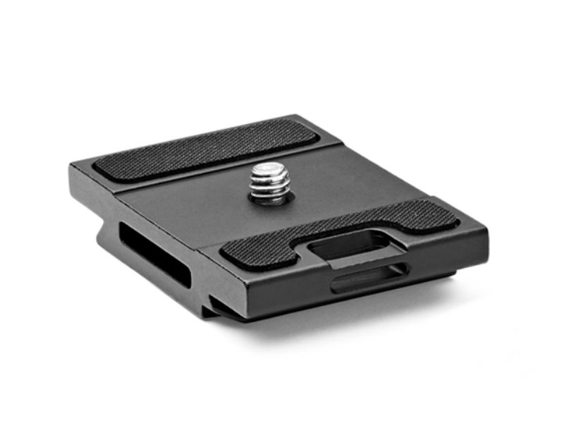 Gitzo GS5370SDR Quick Release Plate Aluminum Short D With Rubber