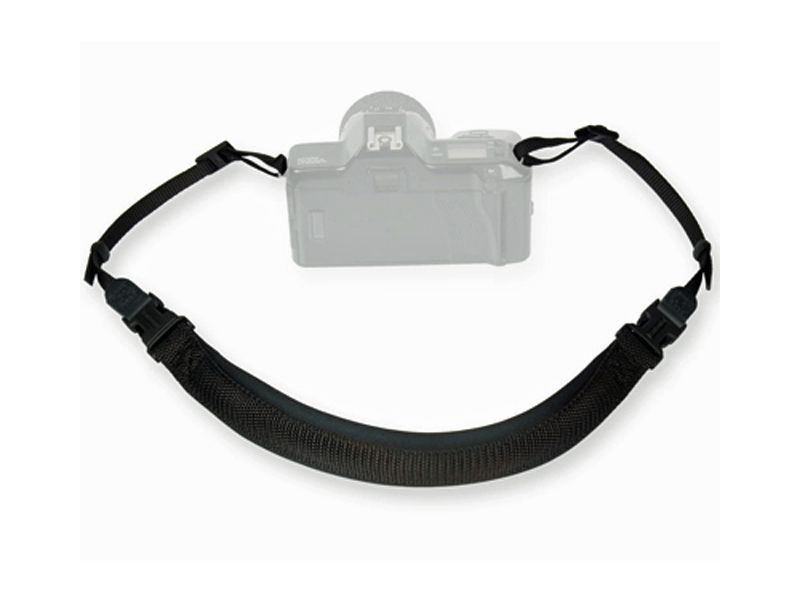 OpTech Envy Strap Black - Memory Foam SLR Camera Neck Strap