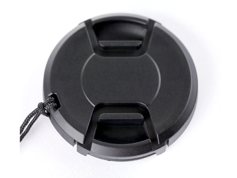 Summit Clip-on 58mm Lens Cap with Built-In Cap Keeper