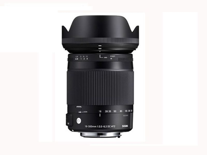 Sigma 18-300mm F3.5-6.3 DC Macro OS HSM Contemporary - For Canon