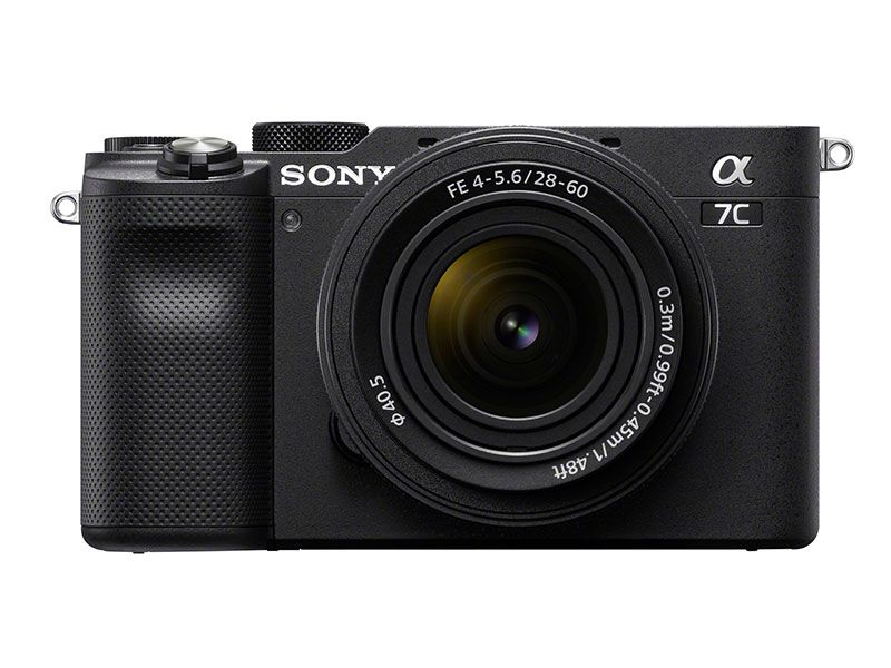 Sony A7C full frame mirrorless camera with FE 28-60mm lens - Black