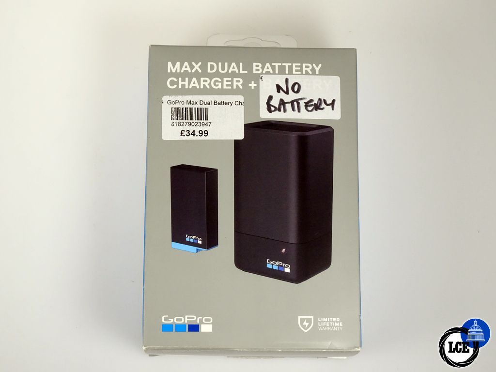 GoPro MAX Dual Battery Charger - EX DISPLAY